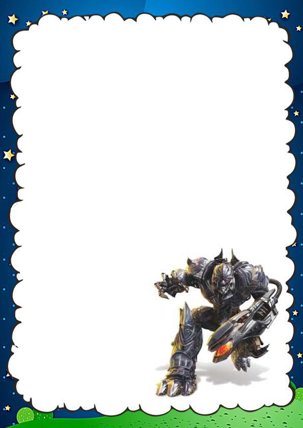 Caratulas Bonitas de Transformers