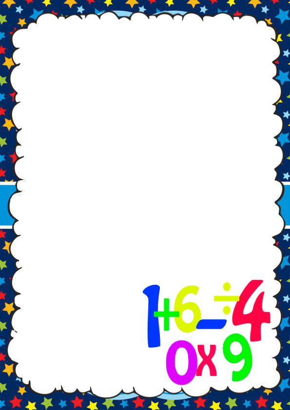 Caratulas Bonitas de Matemáticas