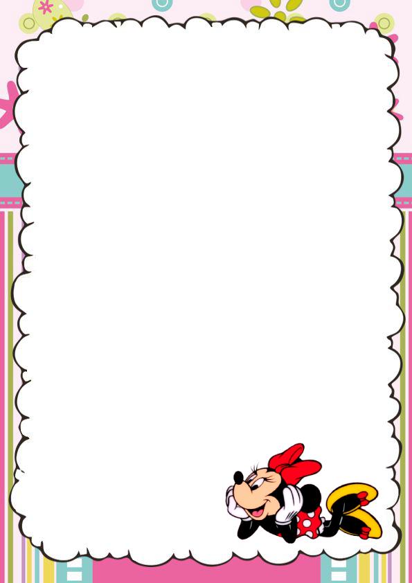 Caratulas Bonitas de Minnie Mouse