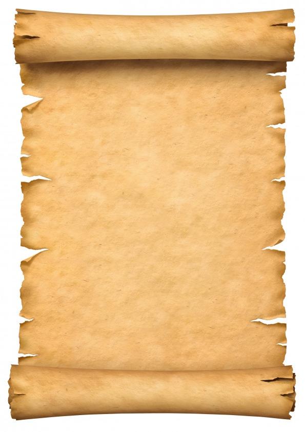 pergamino para escribir