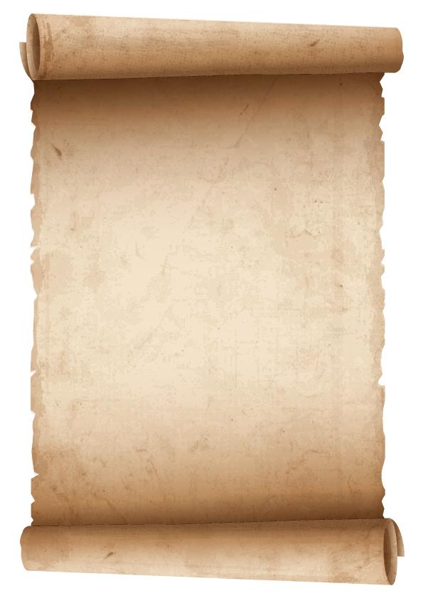 pregamino de papel antiguo