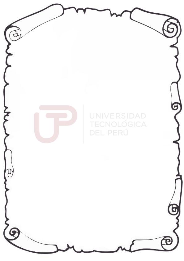 Caratula para Universidad Tecnológica del Perú (UTP)