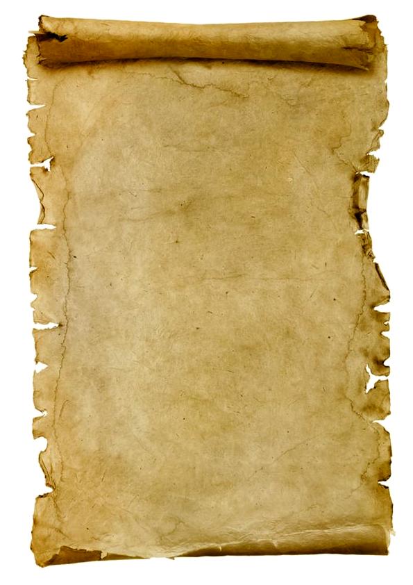 pergamino de papel para esecribir
