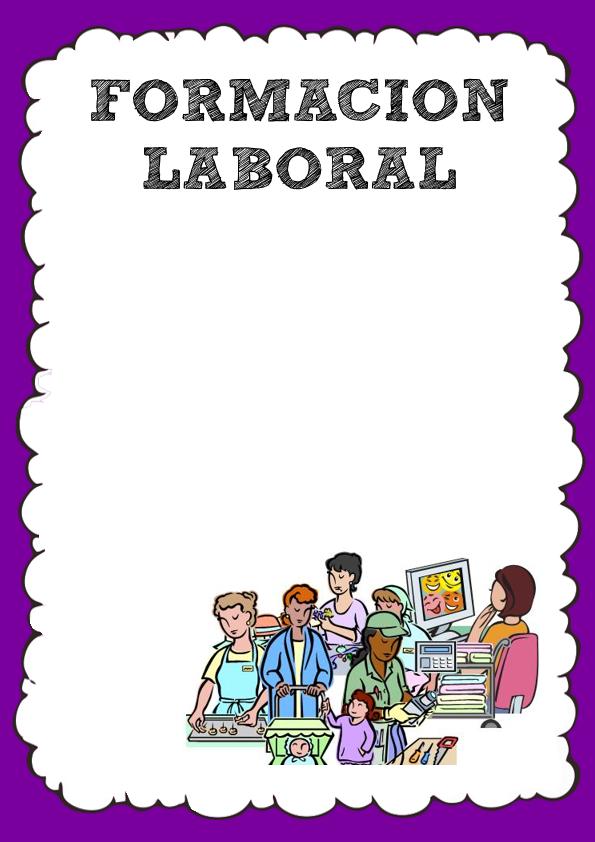 Caratula de Formación Laboral
