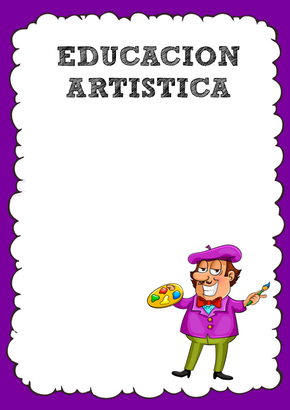 Caratula de Educación Artística