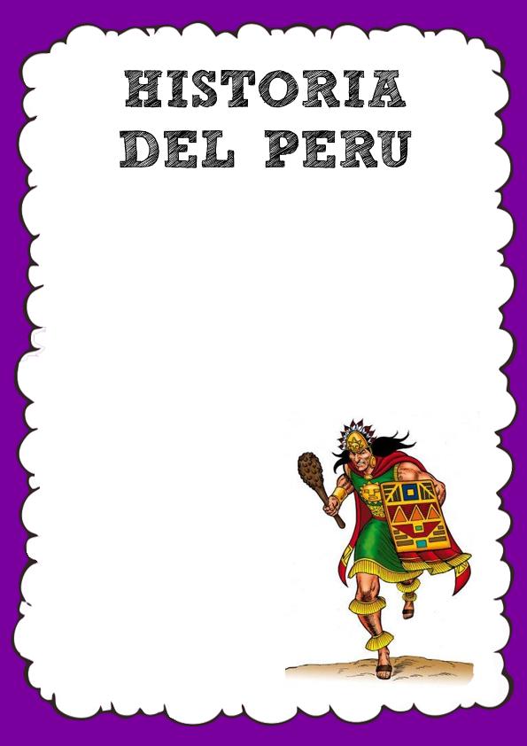 Caratula de Historia del Perú