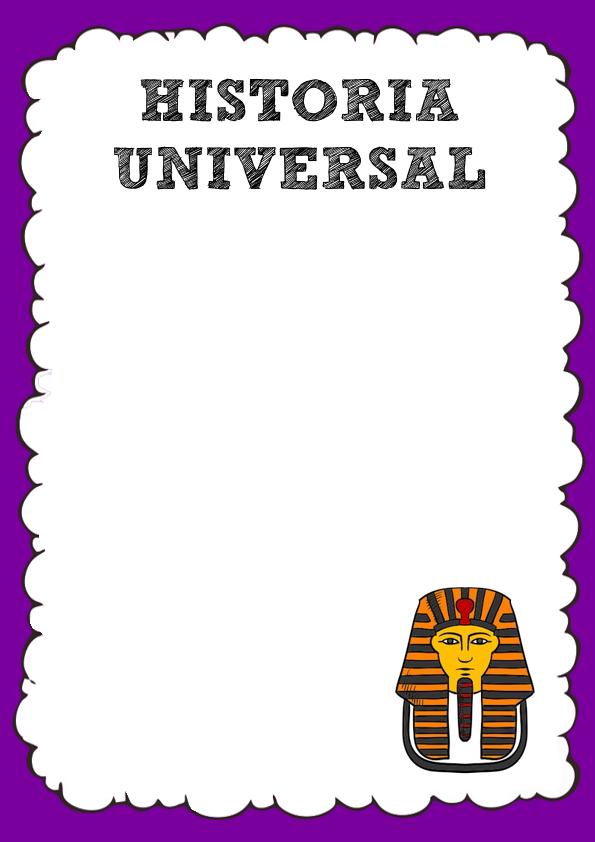 Caratula de Historia Universal