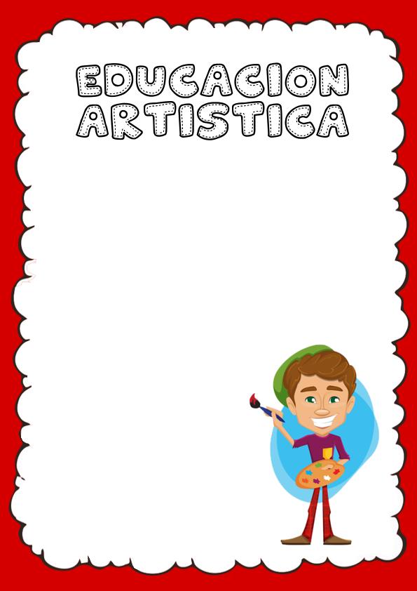 Portadas de Educación Artística