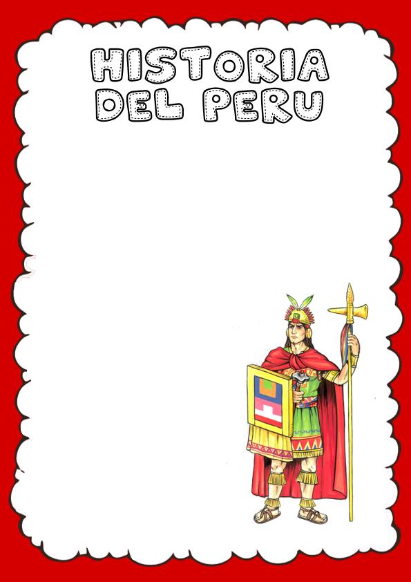 Portada de Historia del Perú