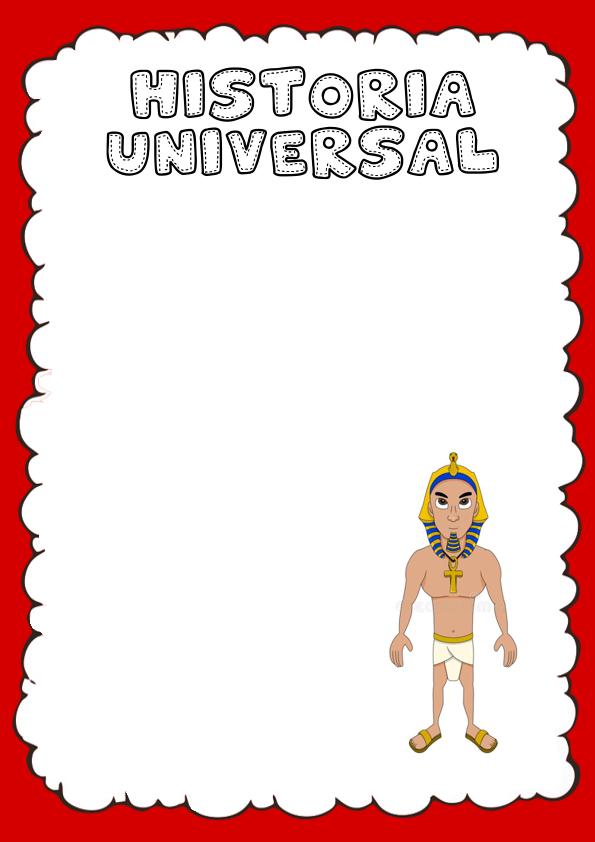 Portada de Historia Universal