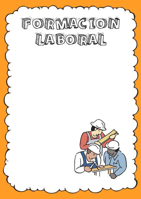 Portadas de Formación Laboral