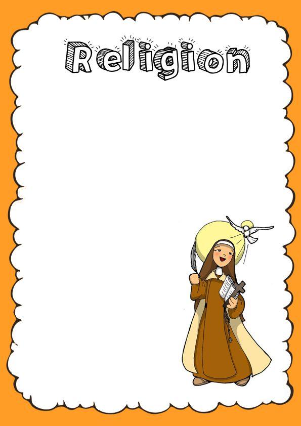 Portadas de Religión