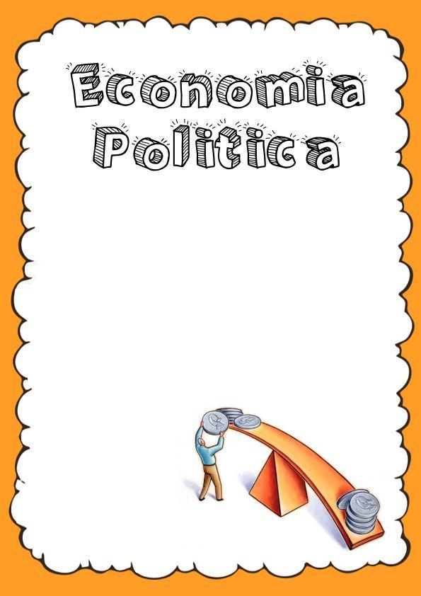 Portadas de Economía Política