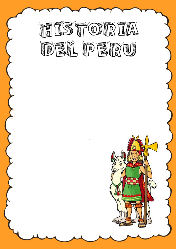 Portadas de Historia del Perú