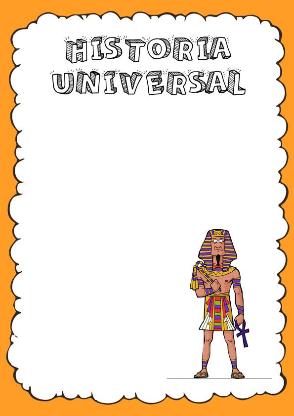 Portadas de Historia Universal