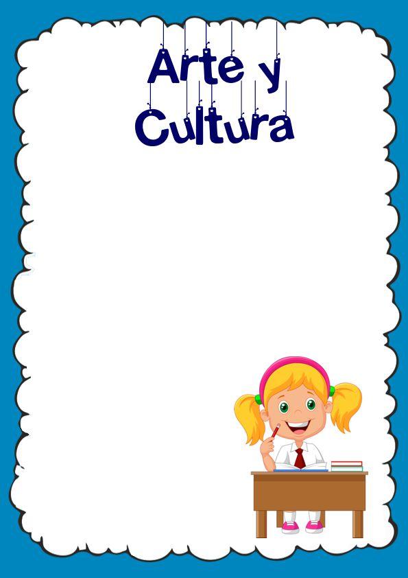 Caratulas de Arte y Cultura
