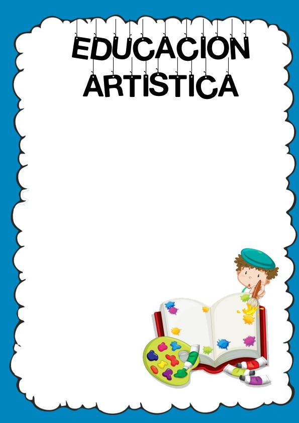 Caratulas de Educación Artística