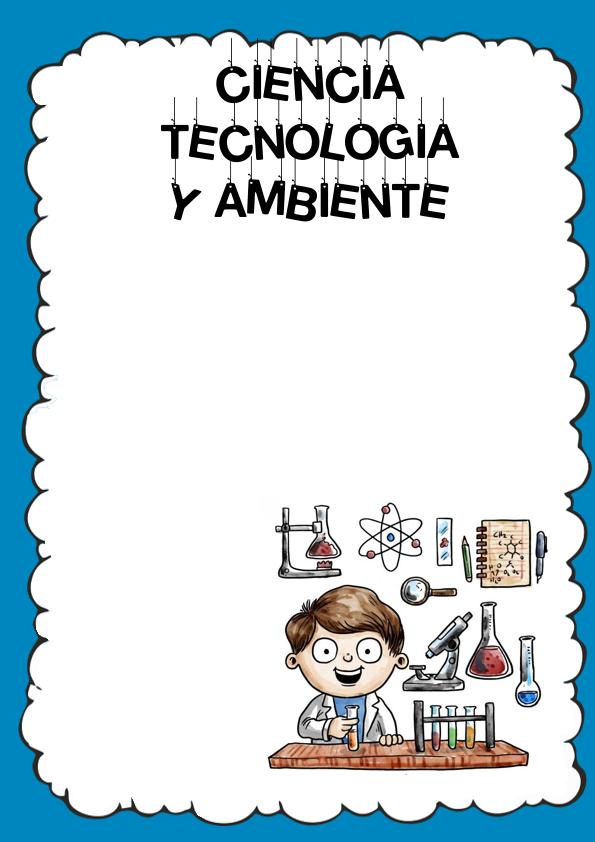 Caratulas de Ciencia Tecnología y Ambiente