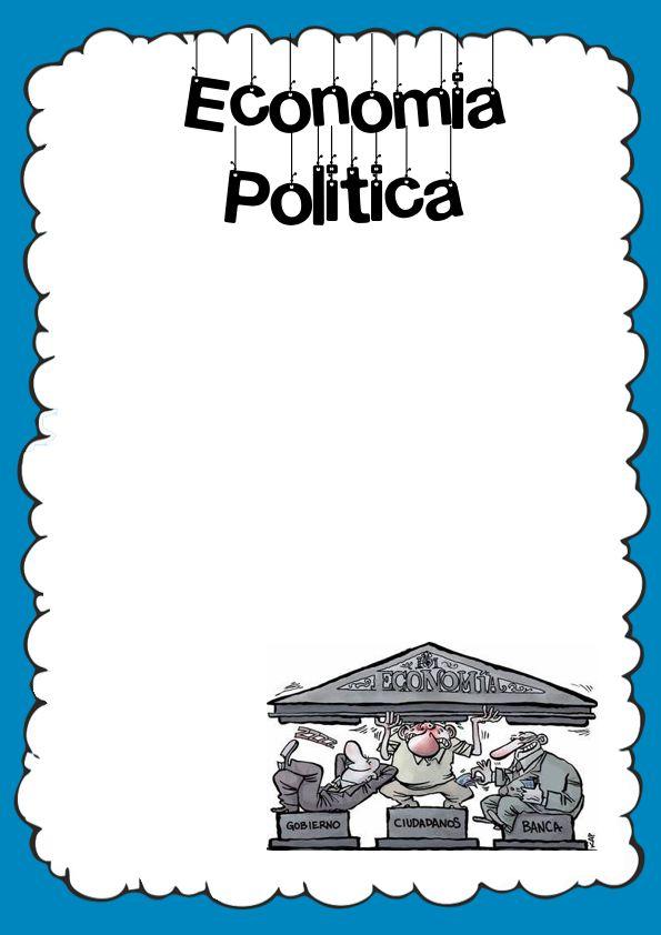 Caratulas de Economía Política