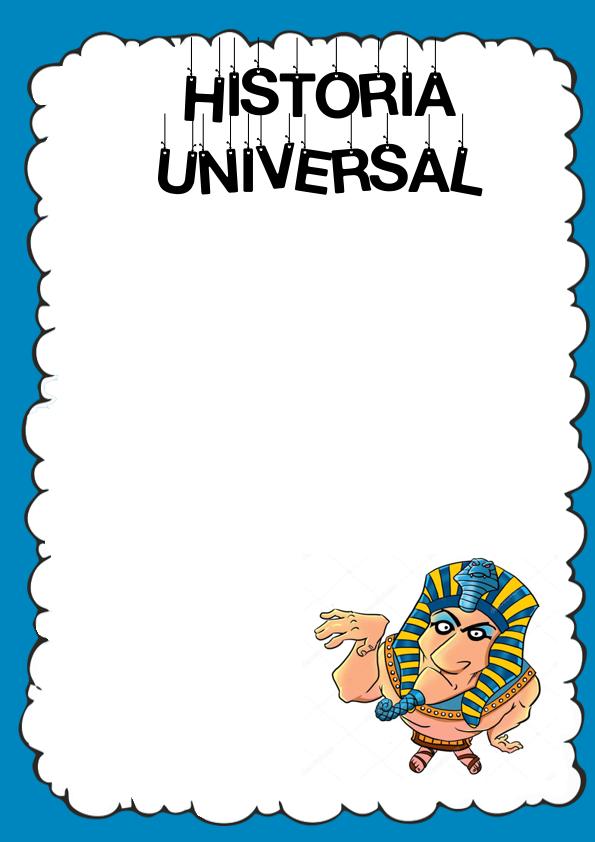Caratulas de Historia Universal