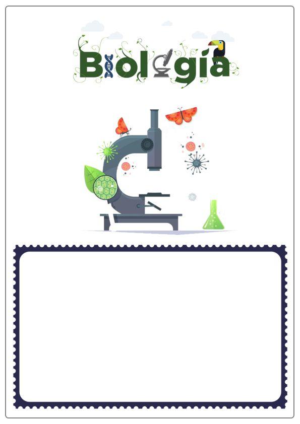 portadas de biologia