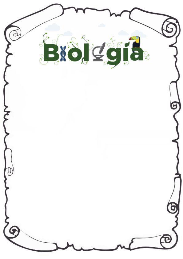 portada de biologia