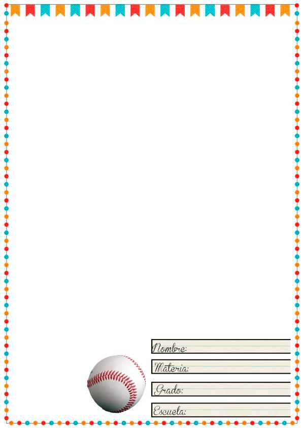 margenes para cuadernos