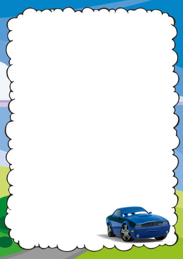 Caratulas Lindas de Cars