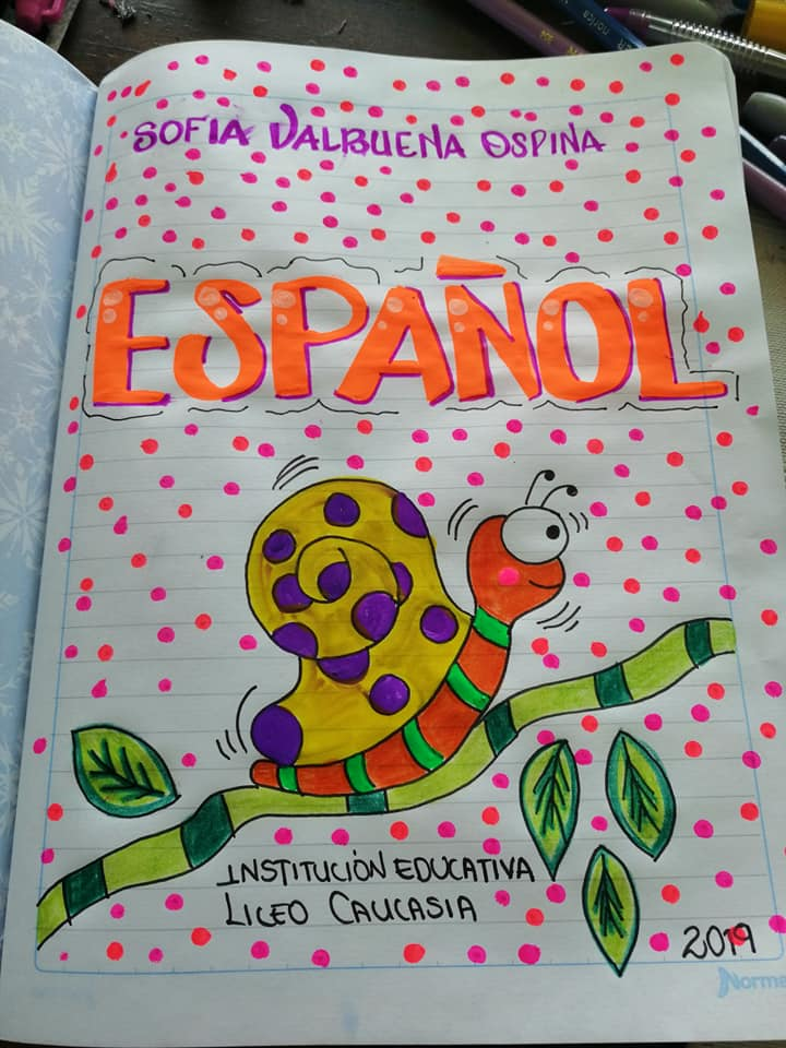 caratula de español