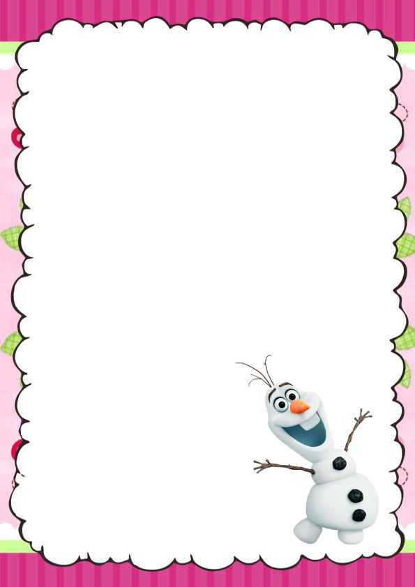 caratulas para cuadernos de Frozen