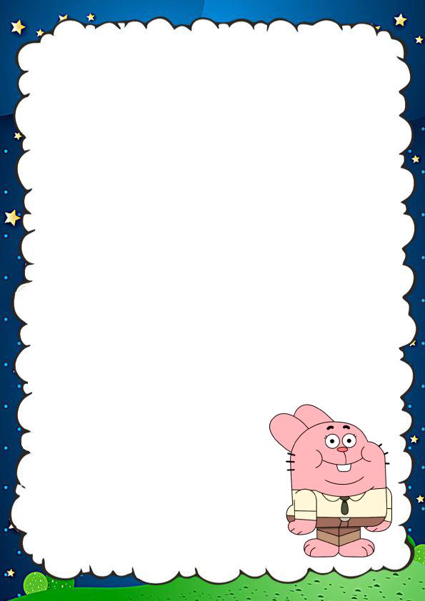 caratulas para cuadernos de Gumball
