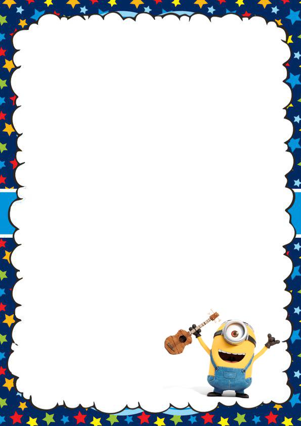 caratulas para cuadernos de Los Minions