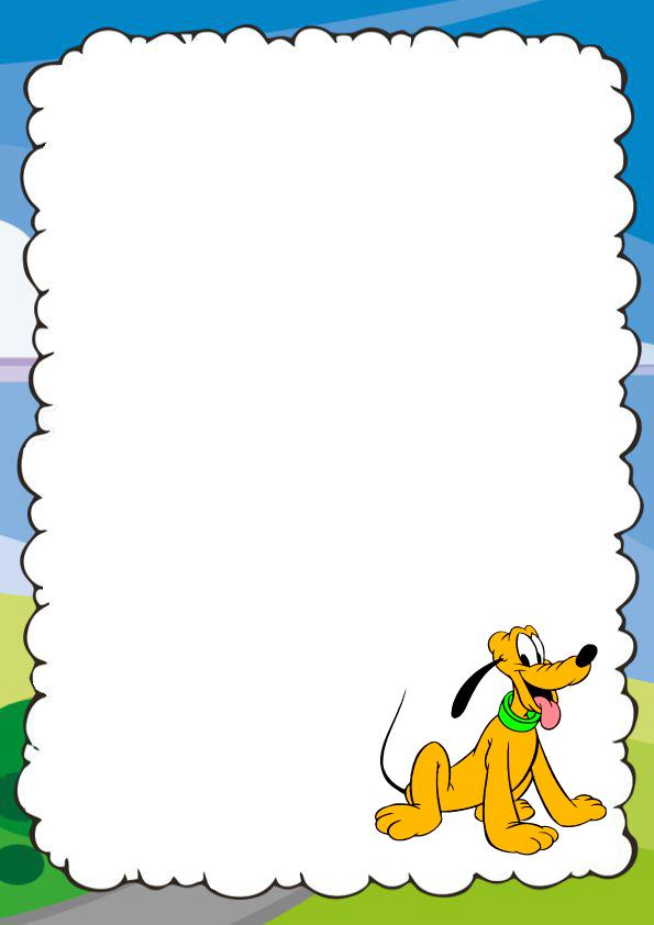 caratulas para cuadernos de Mickey Mouse