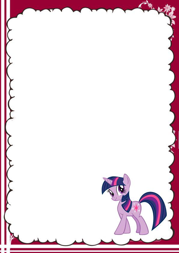 caratulas para cuadernos de Pony