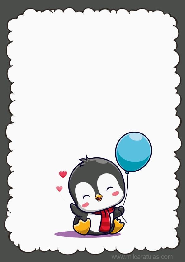 caratula de pinguino