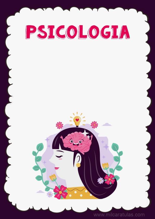 caratula de psicologia