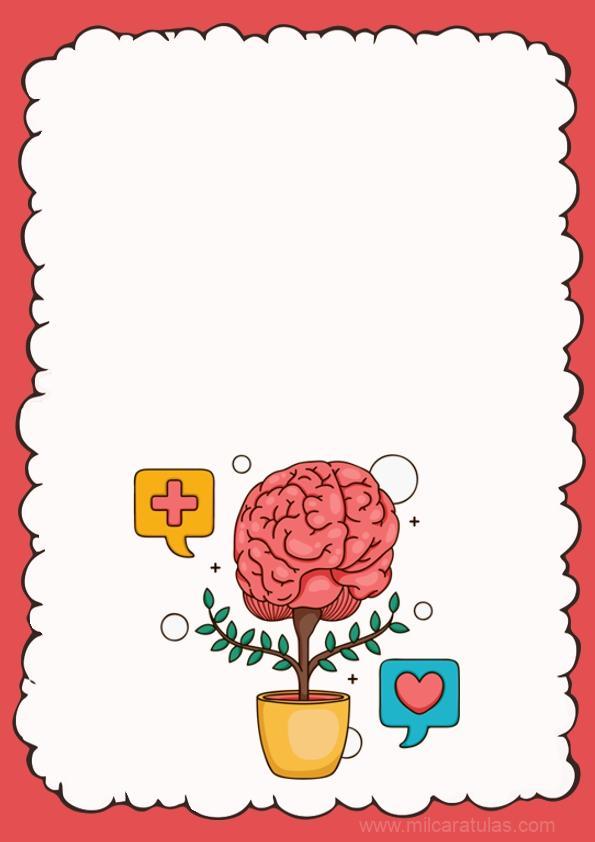 caratula de un cerebro