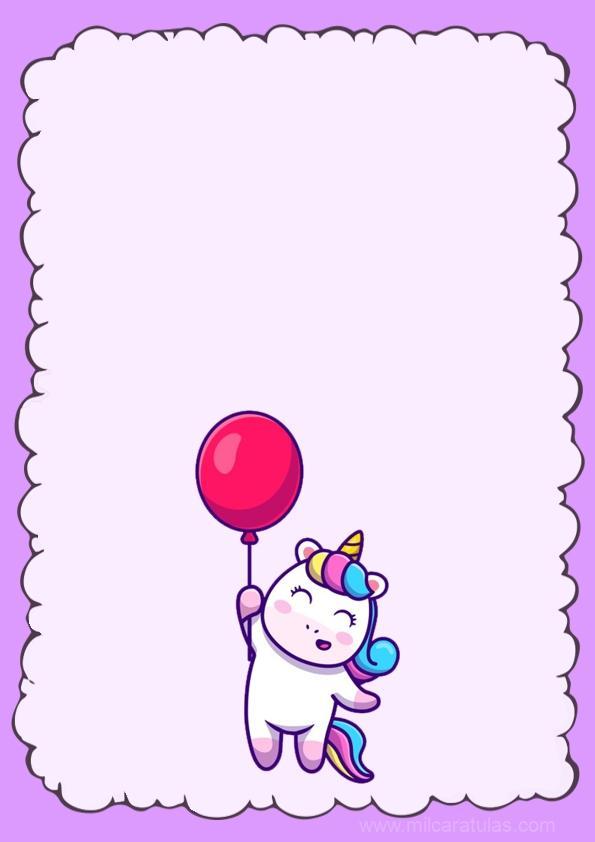caratula de unicornio