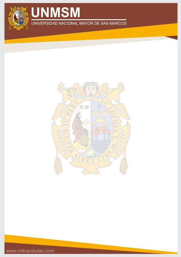 Caratulas de Universidad Nacional Mayor de San Marcos UNMSM