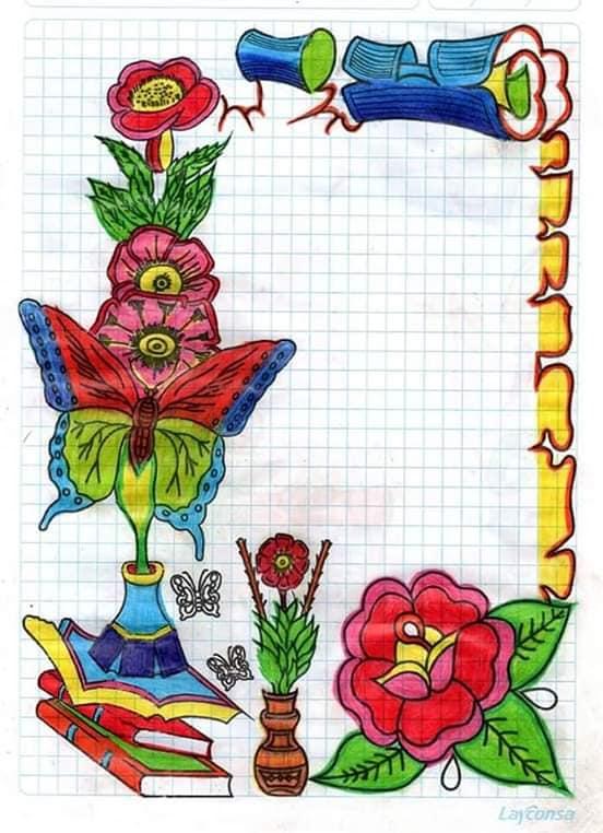 caratulas para cuadernos