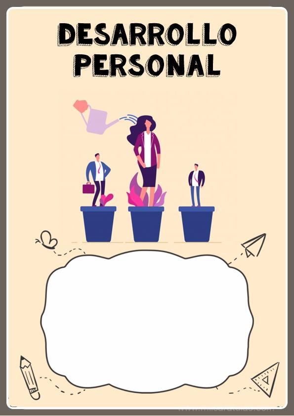 Caratulas de Desarrollo Personal