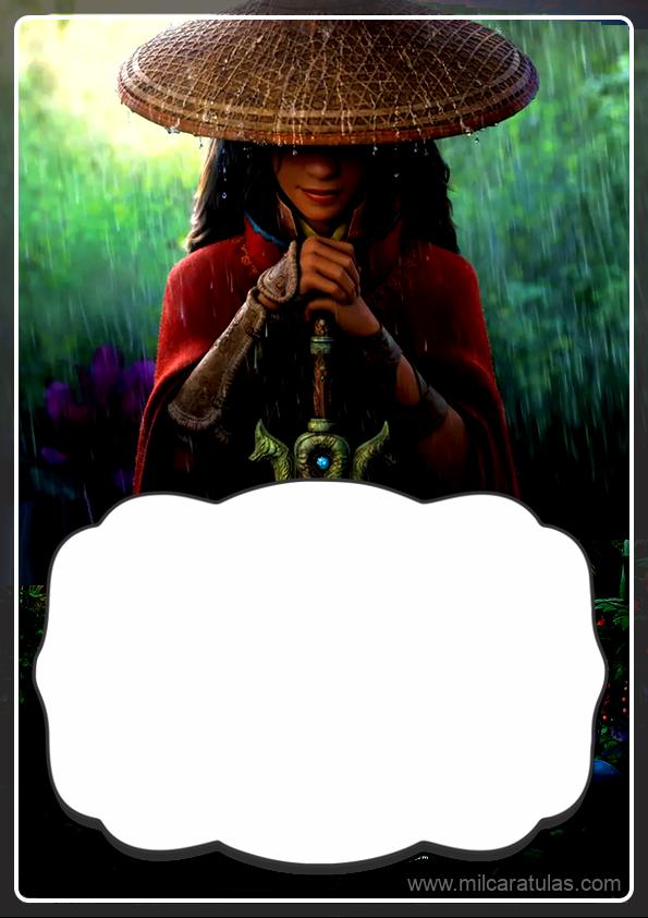 portadas para cuaderno de Raya y el último dragón