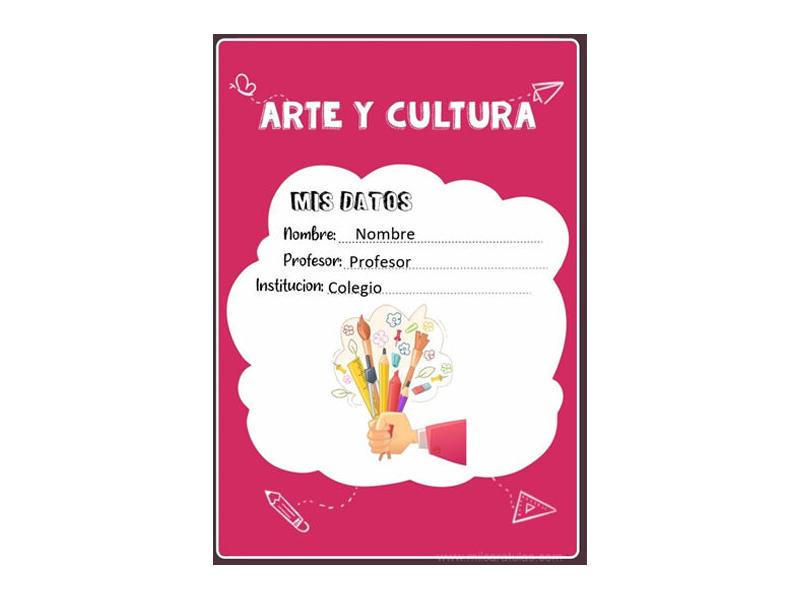 Caratula y Portada de Arte en Word 1