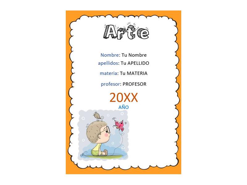 Caratula y Portada de Arte en Word 11
