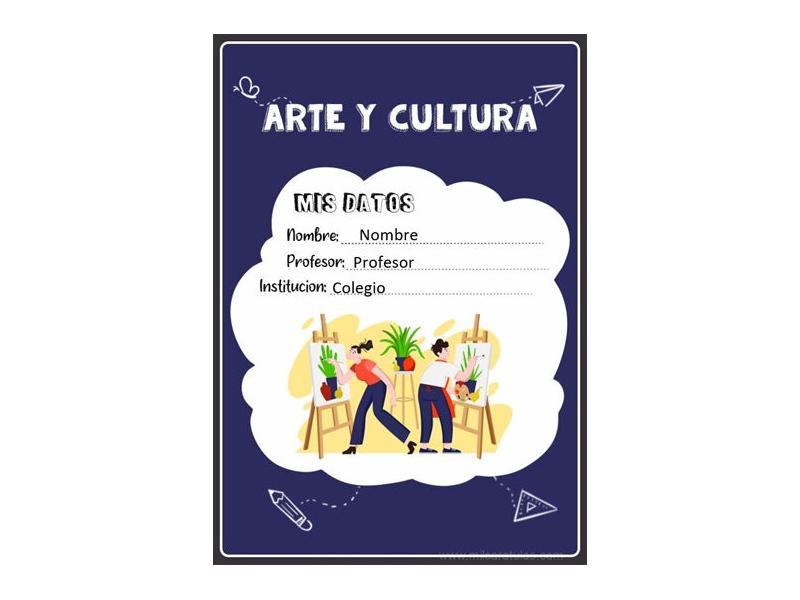 Caratula y Portada de Arte en Word 2