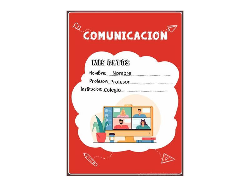 Caratula y Portada de Comunicación en Word 12
