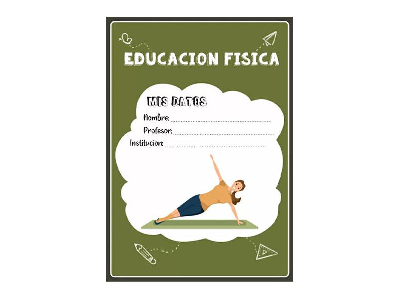 Caratula y Portada de Educación Física en Word 14